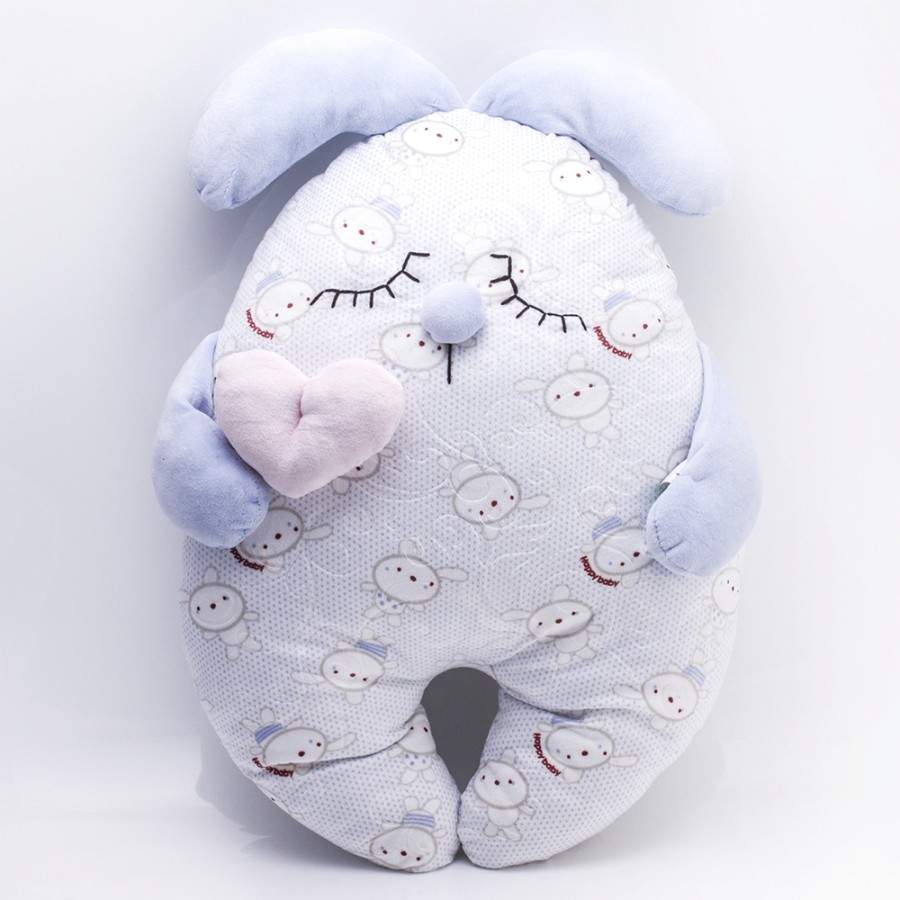Blue Rabbit Plush Toy For Little Ones
